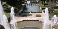Garten Villa d'Este in Tivoli